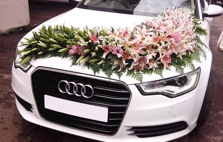Dekoracije za automobile cvjećara Uniko